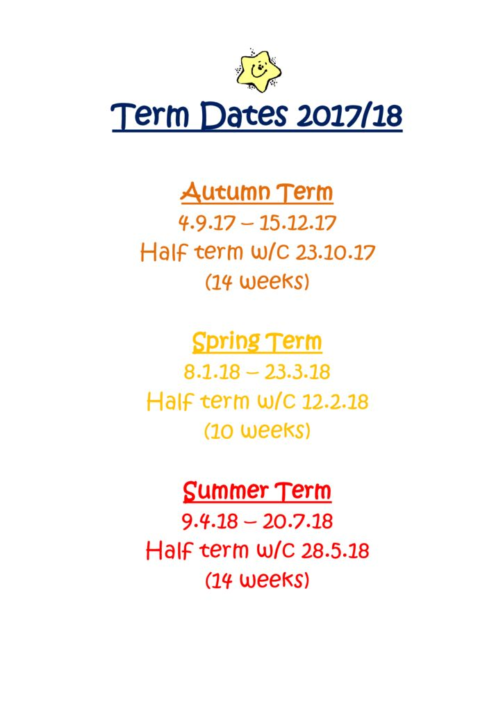 thumbnail of term dates 2018